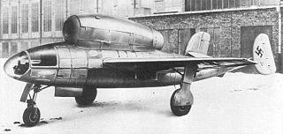 Henschel Hs 132 1945 prototype multi-role combat aircraft by Henschel