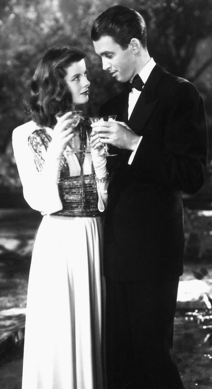 Hepburn Stewart Philadelphia Story