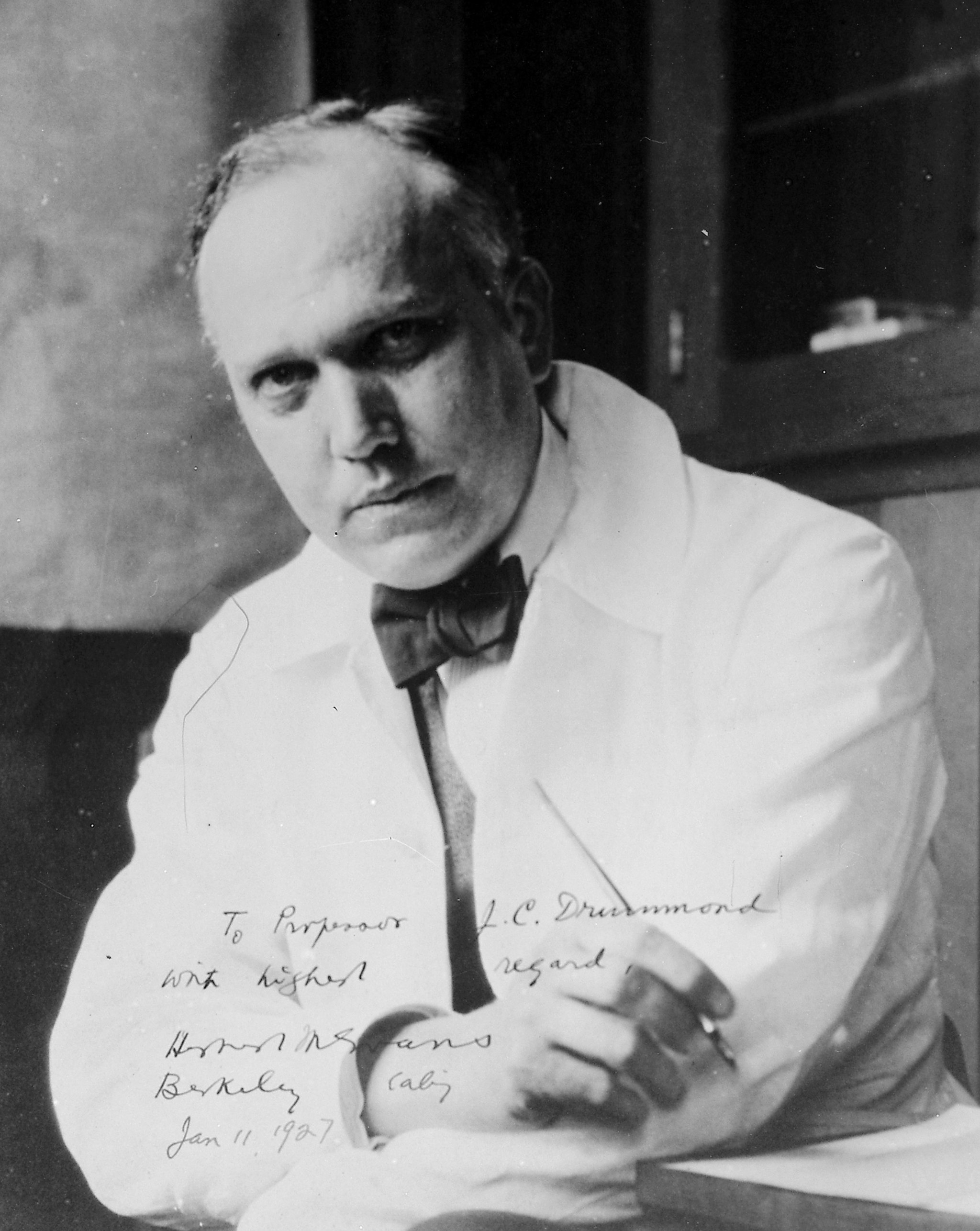 Herbert McLean Evans 1927