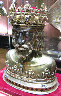 Herma of Saint Sigismund in Płock Cathedral.PNG