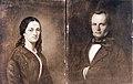 Herman Løchen (1822 - 1876) & hustru Anna Margretha Jenssen Løchen (1826 – 1911). (2747191556).jpg