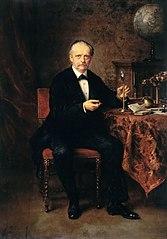 Portrait of the Physicist Hermann von Helmholtz