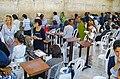 Het vrouwen gedeelte bij de klaagmuur in Jeruzalem.jpg