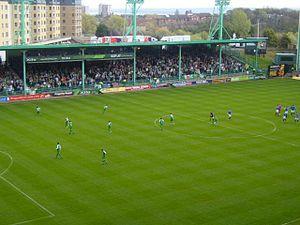 2007–08 Hibernian F.C. season - Hibs 0–0 Rangers, 4 May 2008