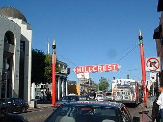 Hillcrest, San Diego Community of San Diego in California
