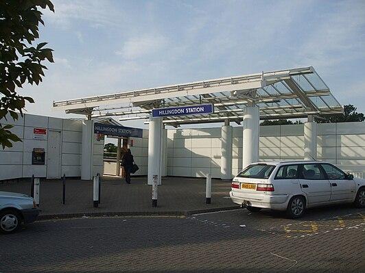 Hillingdon tube station