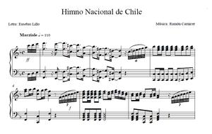 "National Anthem of Chile - ""National Anthem of Chile"", opening piano."