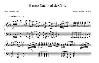 National Anthem of Chile National Anthem of Chile