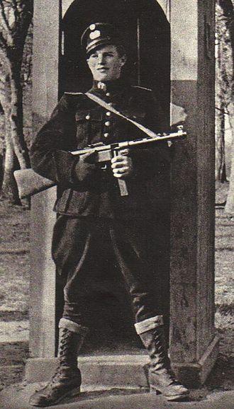 HIPO Corps - Armed HIPO policeman