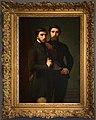 Hippolyte-jean flandrin, rené-charles dassy e suo fratello jean-baptiste-claude-amédé, 1850, 01.jpg