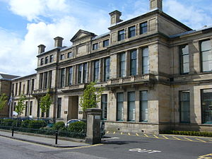 Longmore House - Historic Scotland offices in Edinburgh