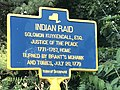 Historic marker on Neversink Drive attack on Kuykendall house, 1779.jpg