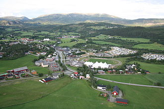 Høylandet - View of Høylandet village