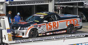 V8 Ute Racing Series - Holden VE SS Ute as driven by Steve Hodges at the opening round of the 2010 Yokohama V8 Ute Racing Series at the Clipsal 500