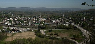 Hollidaysburg, Pennsylvania - Hollidaysburg skyline