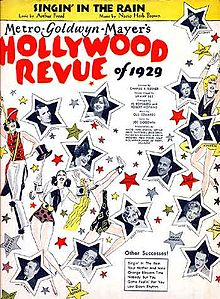 Description de l'image Hollywood-revue-1929-singin-intherain-sheet-1.jpg.