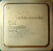 Square computer chip