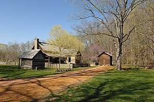 "Land Between the Lakes National Recreation Area - Some of the structures of ""The Homeplace""."