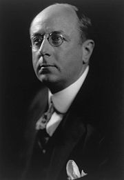 Homer Cummings, Harris & Ewing photo portrait, 1920