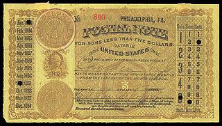 United States postal notes