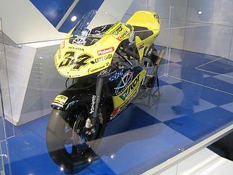 Andrea Dovizioso - Honda NSR250 used by Dovizioso in the 250cc World Championship