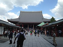 Hondo (Main Hall) of Sensoji Temple 2.jpg
