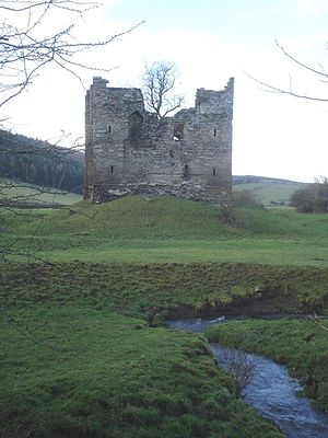 Hopton Castle - Another view of the castle
