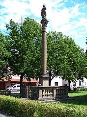 Maria column in Horní Jelení