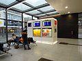 Horrem Bahnhof Anzeigen im Innenraum.JPG