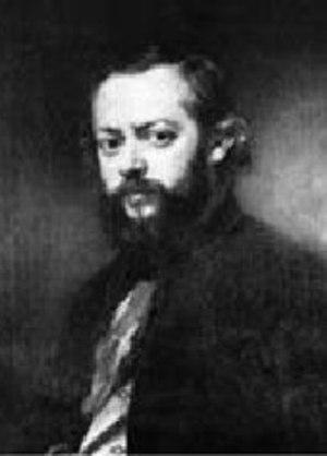 Theodor Hosemann - Self-portrait (1855)