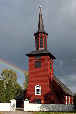Hosjö kirke i september 2010