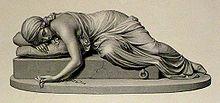 Statua di Beatrice Cenci di Harriet Goodhue Hosmer, 1857