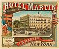 Hotel Martin, New York, advertisement 1884.jpg