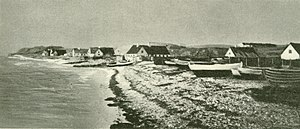Hundested - Hundested in about 1890