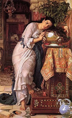Hunt, William Holman — Isabella and the Pot of Basil — 1867.jpg