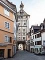 Hussenstraße mit Schnetztor in Konstanz.jpg