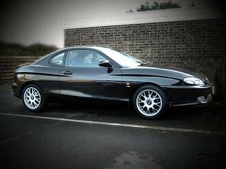 Hyundai Tiburon - Hyundai Coupe F2 (1998–1999, UK)