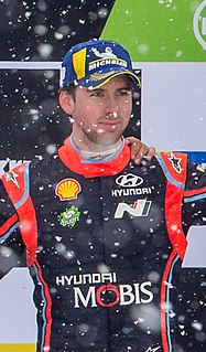 Anders Jæger Rally co-driver in the World Rally Championship