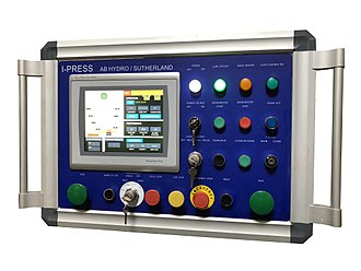 Hydraulic press - Image: I PRESS Servo Hydro Control
