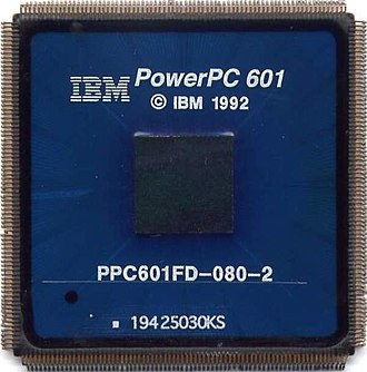 Reduced instruction set computer - An IBM PowerPC 601 RISC microprocessor