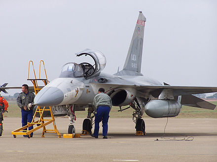 Republic of China Air Force Indigenously produced fighter airplane IDF Pre-production.jpg
