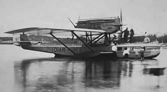 Dornier Do J - A Wal at Slite, Gotland, en route to Gdańsk-Stockholm in 1925