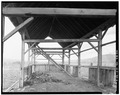 INTERIOR, GENERAL VIEW LOOKING NORTH - Fred Amyx Barn, North Broadway, West side, Montour, Gem County, ID HABS ID,23-MONT,2-6.tif