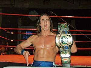 Drew McIntyre - Galloway as the IWW International Heavyweight Champion