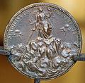 Iacopo nizzola da trezzo, medaglia di giannello torriani (o della torre), orologiaio e architetto, 1550-55 ca., verso.JPG