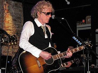 Ian Hunter (singer) - Ian Hunter live in New York, 2010