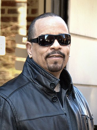 Ice-T - Ice-T in Manhattan on set of Law & Order: Special Victims Unit in March 2011