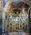 Iconostasul bisericii - Mănăstirea sârbă Sf. Gheorghe, jud. Timiş.jpg