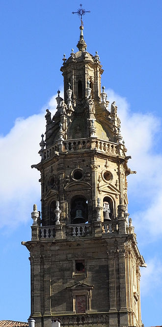 Bell tower - The Santo Tomás parish church in Haro, La Rioja has an exconjuratory in its bell tower