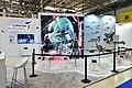 Ilham Aliyev viewed 3rd Azerbaijan International Defense Exhibition ADEX 2018 46.jpg